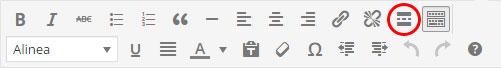 wordpress handleiding : lees meer knop