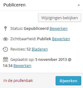 wordpress handleiding pagina publiceren