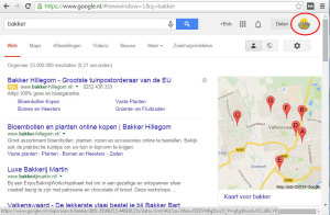 hoe hoog sta ik in google ingelogd op google account