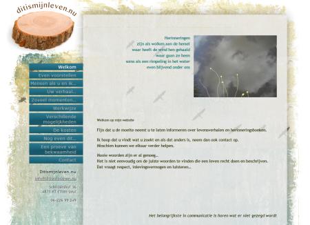 Peter's homepage zoals hij was
