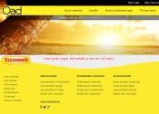 Een gele achtergrond voor je website is erg heftig