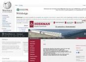 Een grijze website is lekker neutraal en werkt prima in combinatie met een krachtige steunkleur