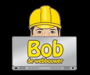 Nieuw logo voor Bob de webbouwer